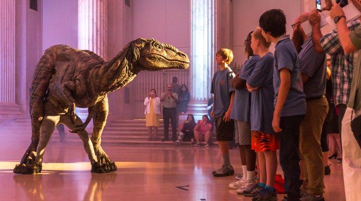 Carroll - Jurassic World at the Franklin Institute
