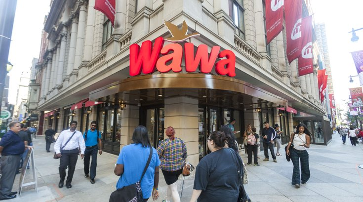 Wawa Broad and Walnut streets