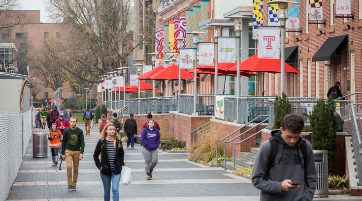Temple university campus Liacouras