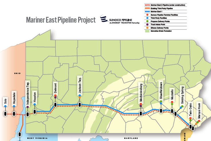 Pa. DEP Slams Brakes On Sunoco Pipeline Construction