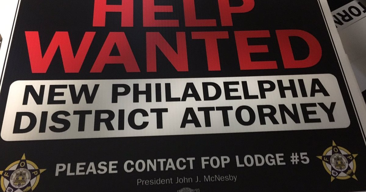 Philly police union posts help wanted signs to replace  : 011817signsFOP2e16d0bafill 1200x630 c0 from www.phillyvoice.com size 1200 x 630 jpeg 229kB