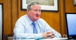 Mayor Jim Kenney; Thom Carroll photo