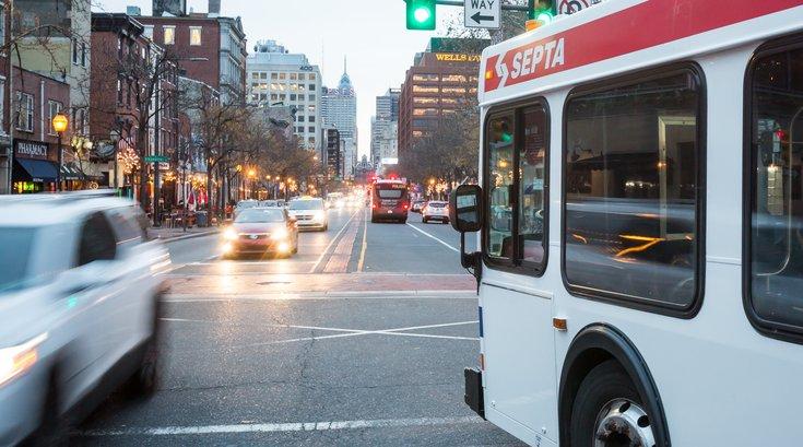 Stock_Carroll - SEPTA Bus on Market Street