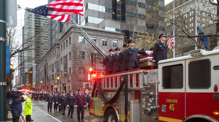 Carroll - Funeral for Philadelphia Fire Department Lieutenant Matthew LeTourneau