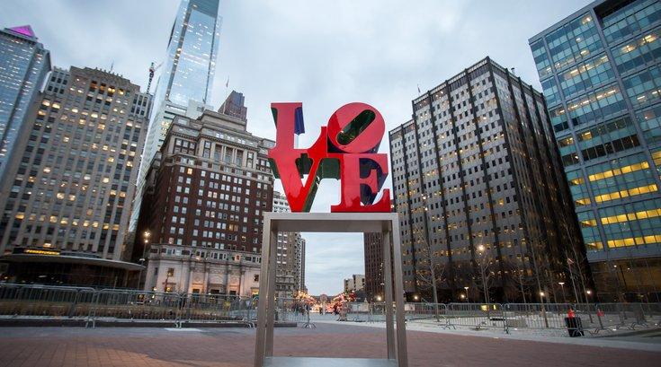 Stock_Carroll - LOVE Sculpture