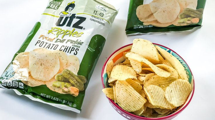Carroll - Bad For You UTZ Pickle Chips