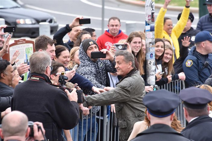 Sylvester Stallone attends 'Rocky' plaque dedication in Philadelphia