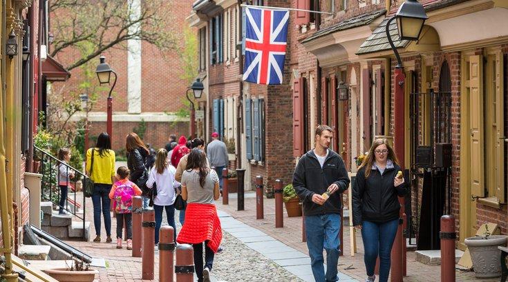 Carroll - Elfreth's Alley in Old City