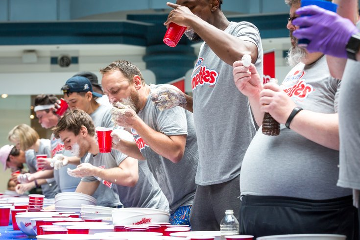 Carroll - Hostess Donettes Eating Competition