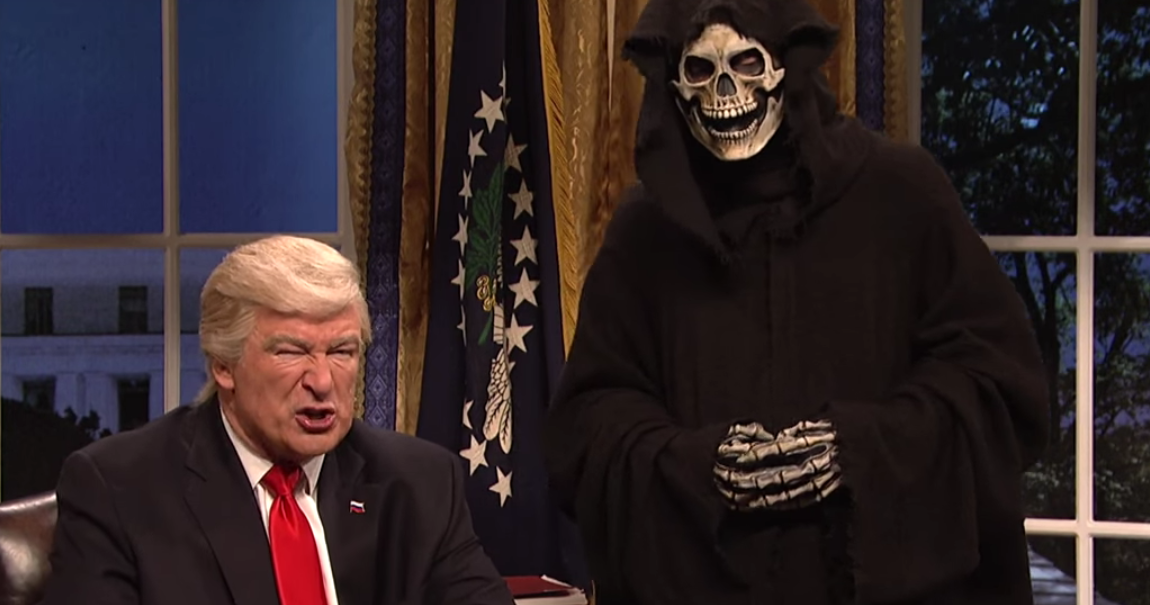 WATCH: 'SNL' skewers Donald Trump's diplomatic phone calls, Sean ...