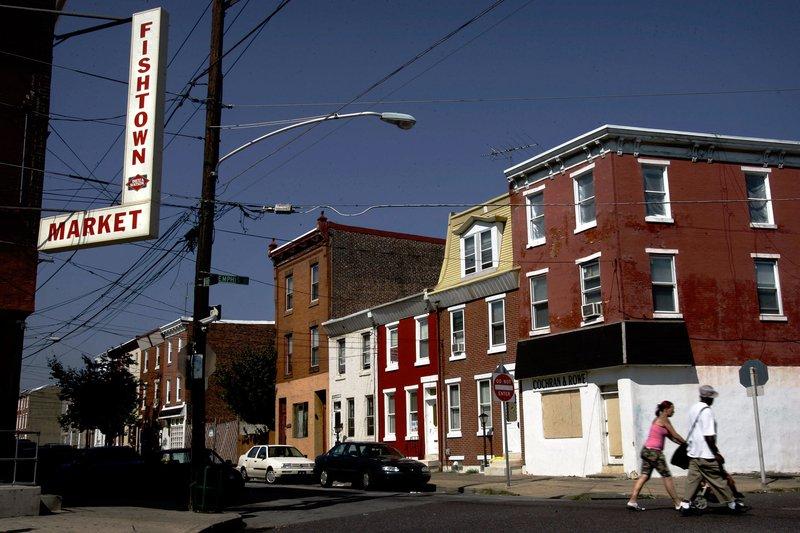 Gentrification widespread in philadelphia phillyvoice for Fish town philadelphia