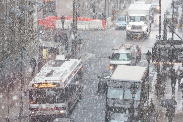 Carroll - Snow in Center City