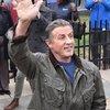 Hughe Dillon - Sylvester Stallone at Rocky Statue