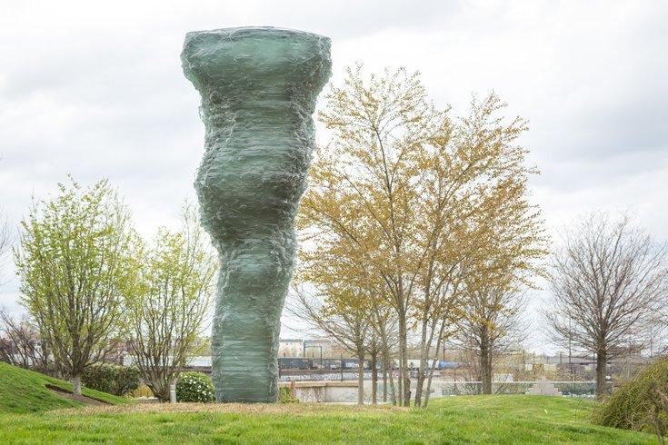 Carroll - Sculpture by Ursula von Rydingsvard at the Philadelphia Museum of Art's Anne d'Harnoncourt Sculpture Garden