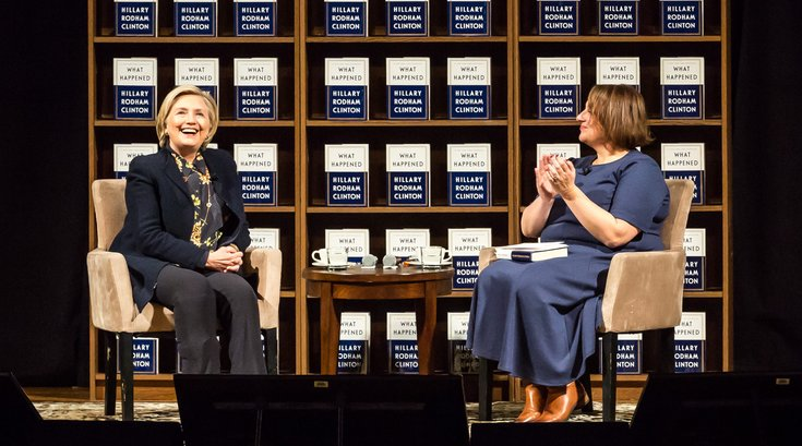 Carroll - Hillary Clinton Book Tour Academy of Music