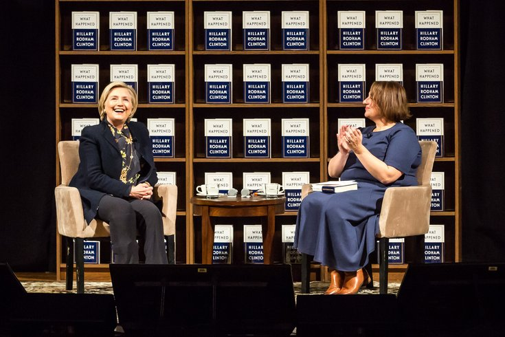 Carroll - Hillary Clinton Book Tour Academy of Music