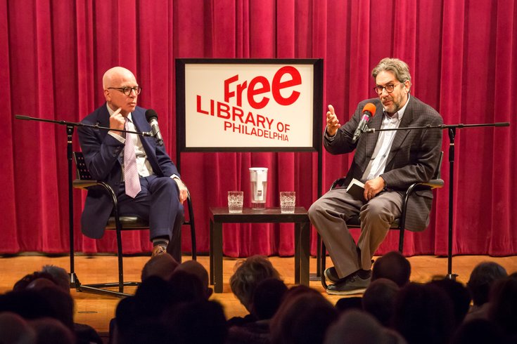 Carroll - Michael Wolff Fire and Fury at the Free Library of Philadelphia