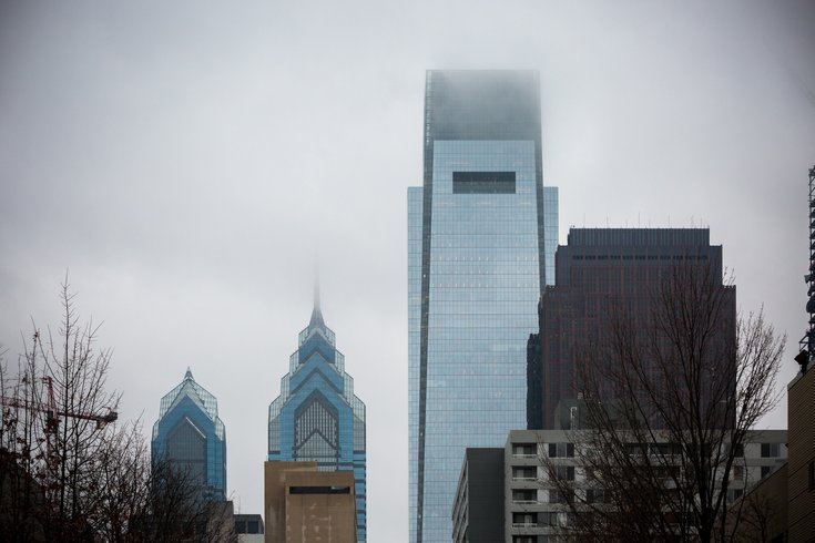Stock_Carroll- Philadelphia Skyline Comcast Liberty