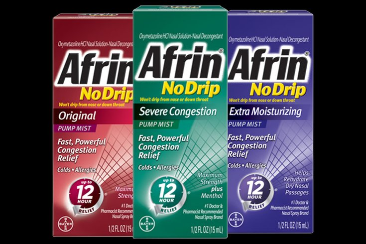 Best To Skip The Afrin And Other Nasal Sprays When You Get