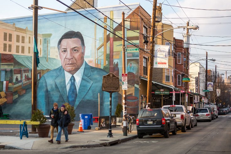 Carroll - Frank Rizzo Mural in South Philly's Italian Market