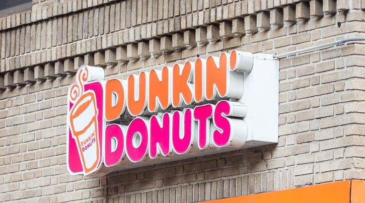 Stock_Carroll - Dunkin Donuts sign