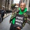 Carroll - Wallo267 at a Meek Mill hearing outside Philadelphia Municipal Court
