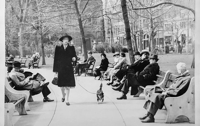 Carroll - Then and Now Rittenhouse Square