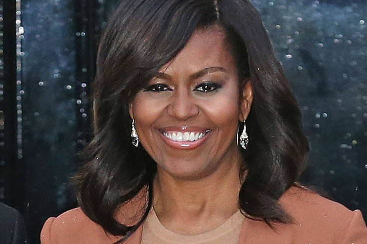 Michelle Obama headlines women's leadership conference