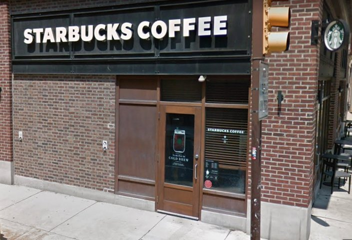 Starbucks says CEO met with 2 men arrested