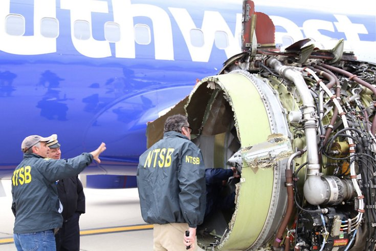 Feds were already investigating Southwest jet engines