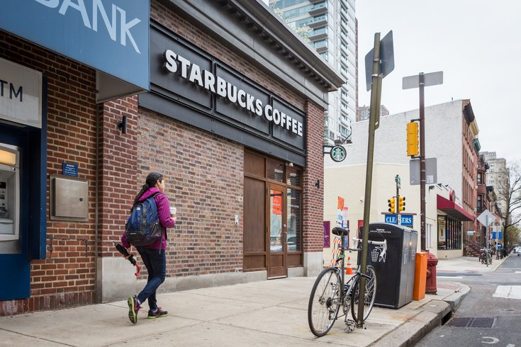 Carroll - Starbucks at 18th and Spruce streets