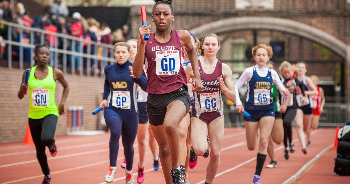 Runners Spectators Race To University City For Penn