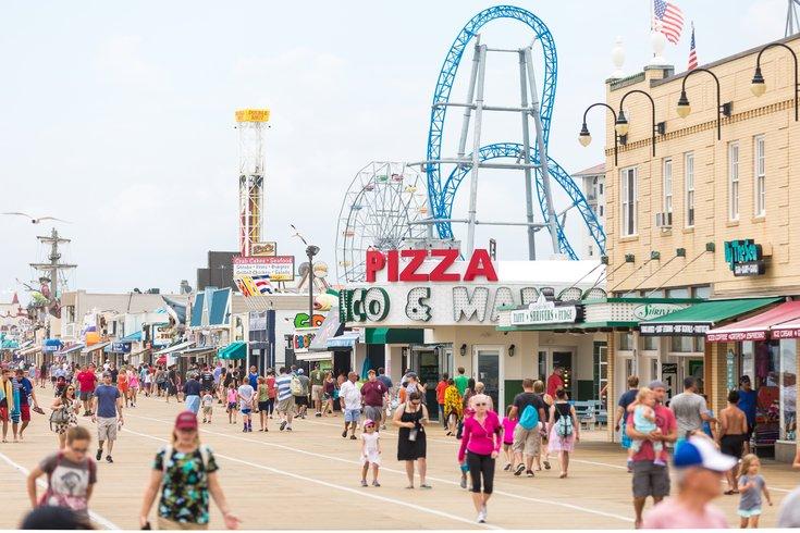 Ocean City New Jersey Boardwalk Food