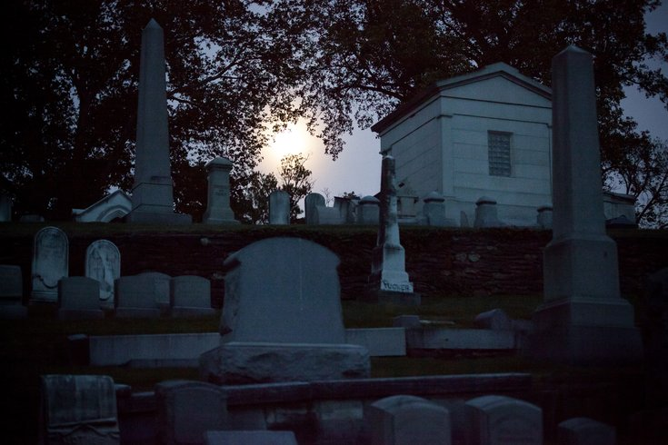 Carroll - Ghostly Circus Laurel Hill Cemetery Graves
