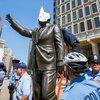 Carroll - Frank Rizzo Statue Protest
