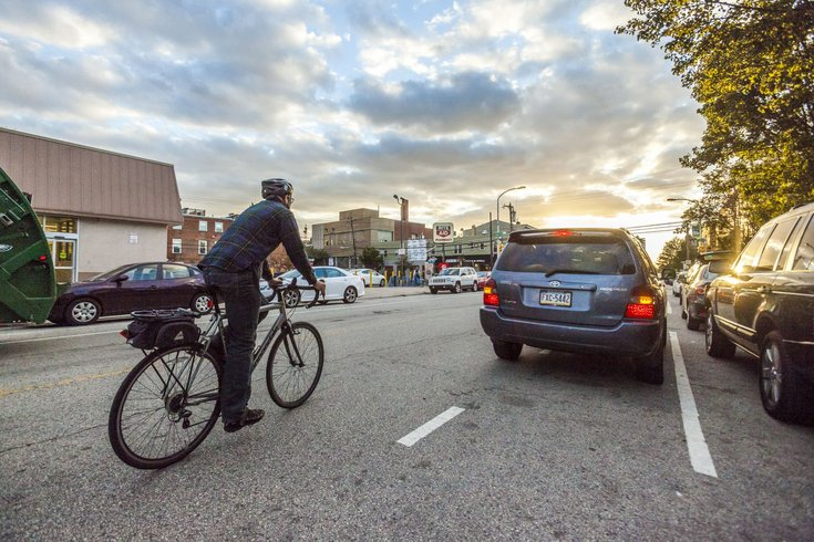 Carroll - Cars Parked in Bike Lanes