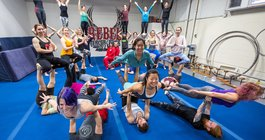Carroll - AcroYoga at Rebel Circus Arts
