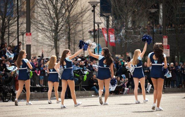 Carroll - Villanova Basketball Parade