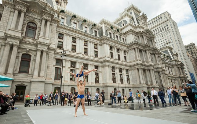 Carroll - Momix Dance Performance at Dilworth Park