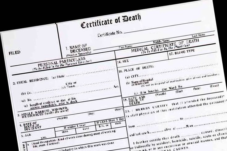 details on death certificates offer layers of clues to
