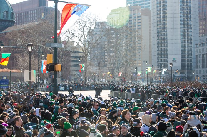Photos Scenes From The Eagles Championship Parade