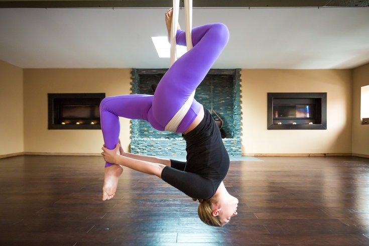 Carroll - We Tried It Aerial Yoga