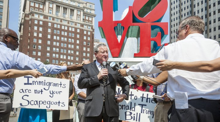 Carroll - Mayor Kenney Sanctuary Cities Press Conference