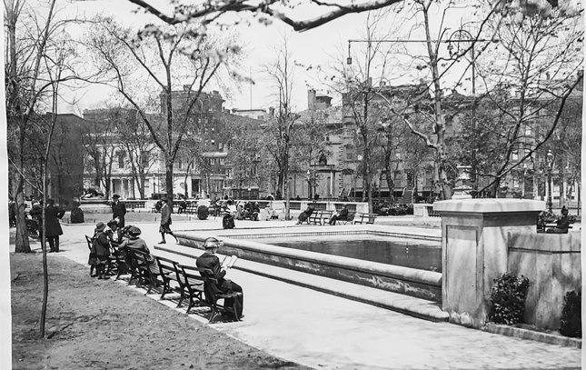 Carroll - Historic Photos of Rittenhouse Square