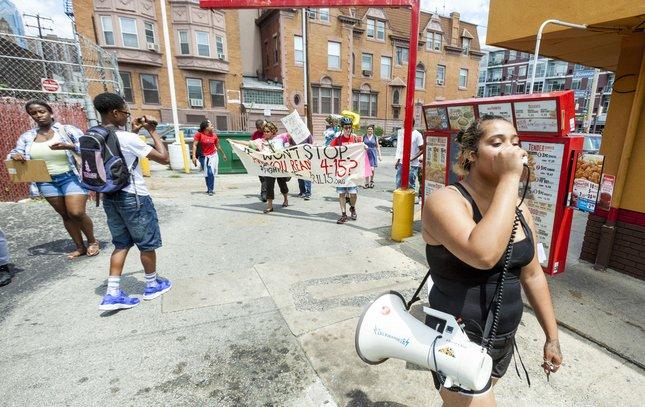 Carroll - Minimum Wage Rally