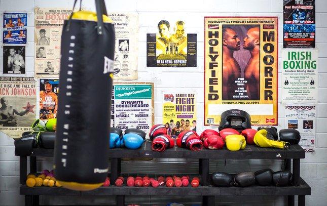 Carroll - Camden Police Boxer Vidal Rivera
