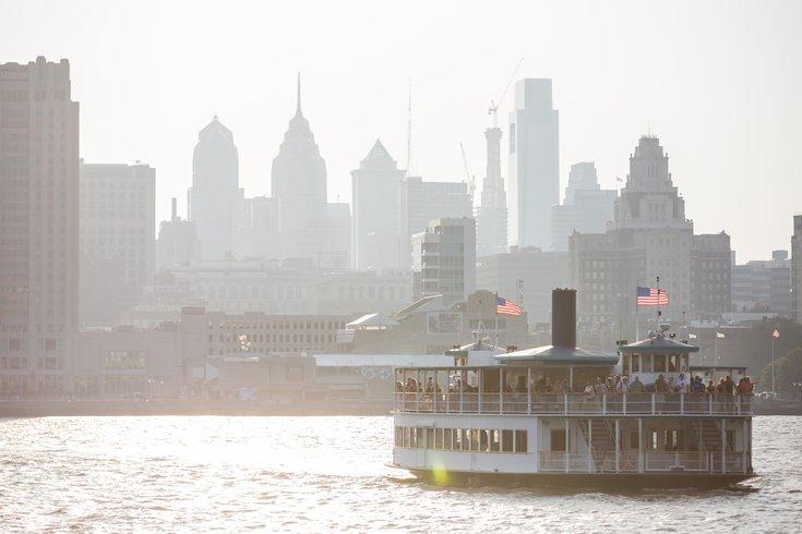 Carroll - Philadelphia Skyline from Camden