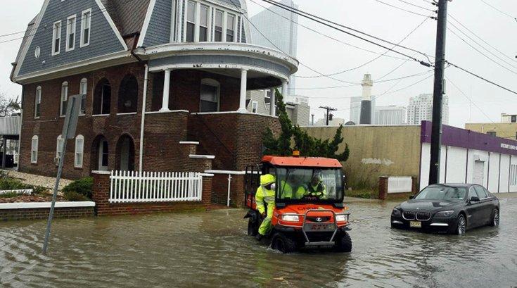Atlantic City floods