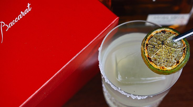 margarita at Fleming's Prime Steakhouse & Wine Bar