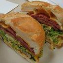 Pork Roll sandwich